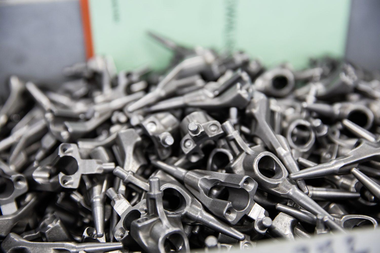 Im RAZ gefertigte Metallteile
