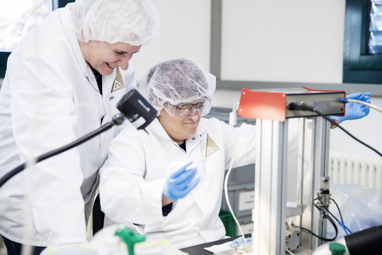 Pharma-Abteilung des RAZ – Verpacken von Medikamenten