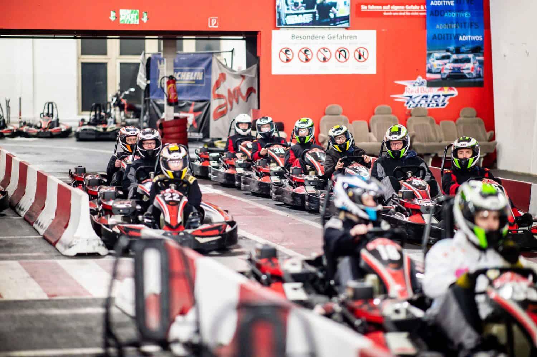 Teamevent des RAZ auf der Go-Kart-Bahn