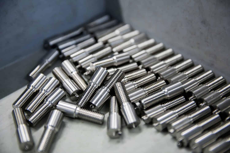 Gefertigte Metallteile