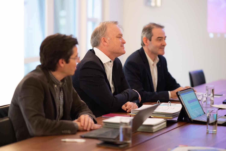 Mitglieder Stiftungsrat im Gespräch
